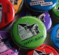 Button Freie Hütte