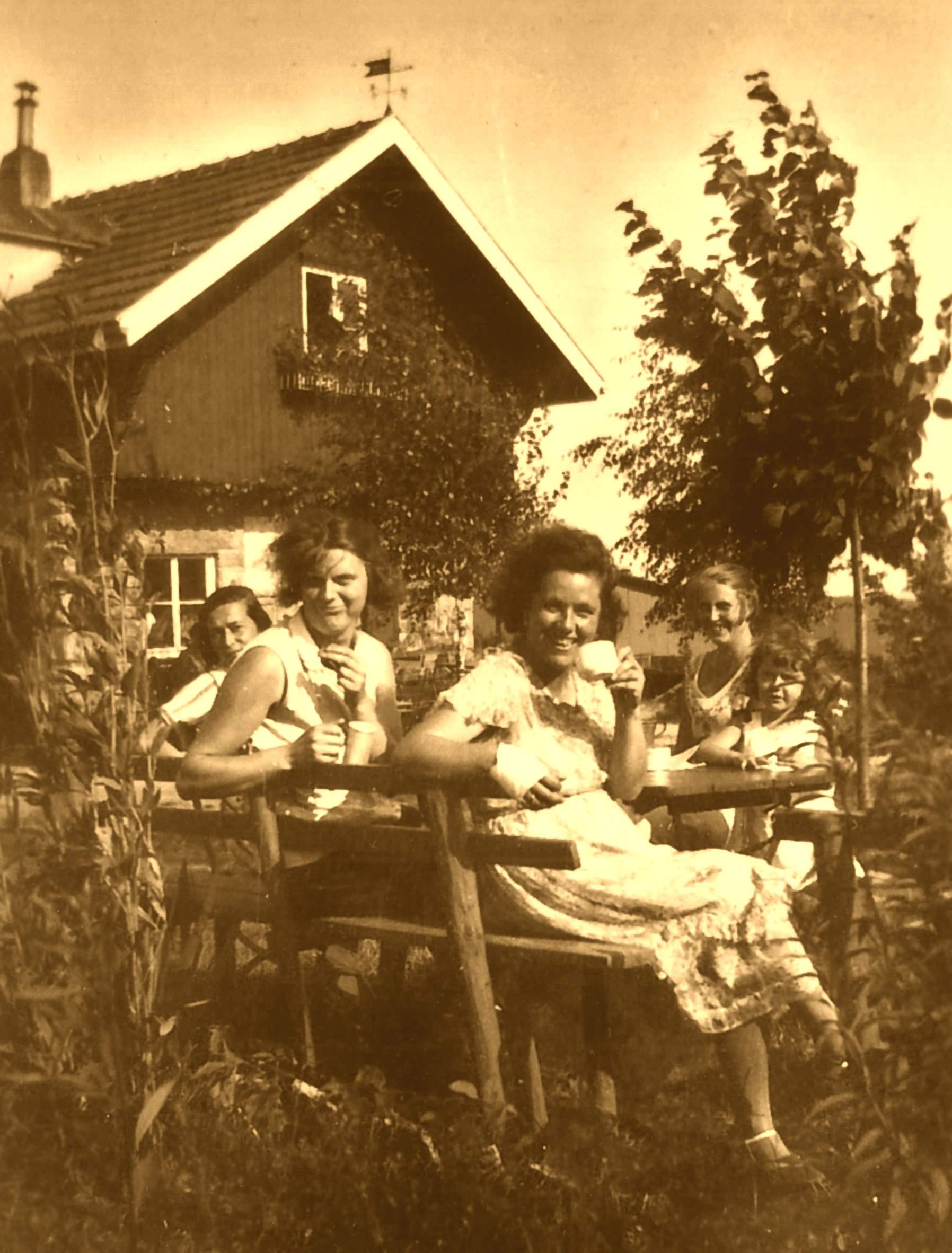 Feier auf der Bakuninhütte 20er Jahre